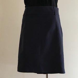MNG by Mango Navy Skirt